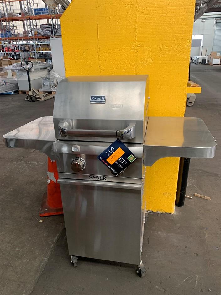 SABER Stainless Steel 2 Burner Gas Grill BBQ, Model R33SC0012