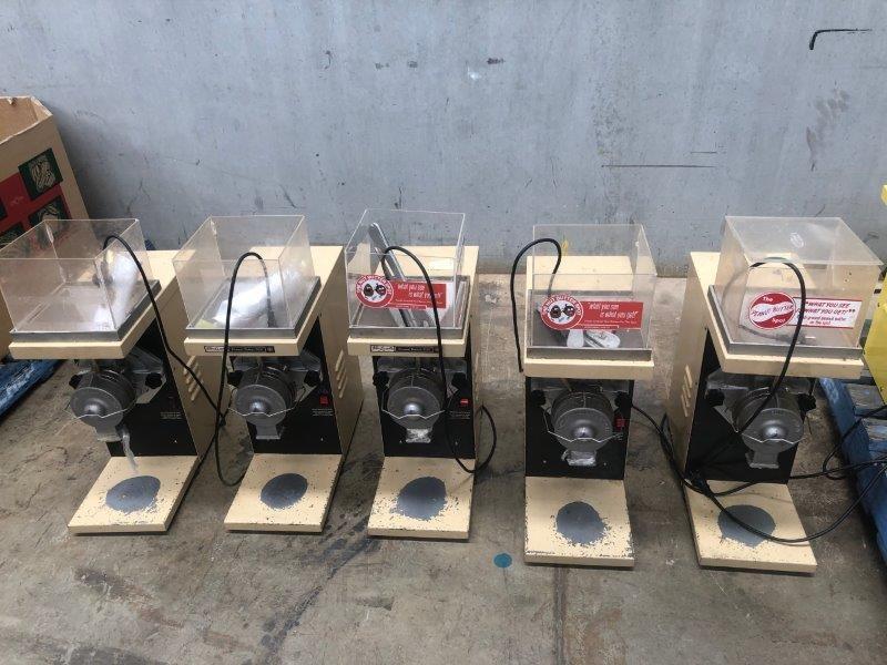 Quantity of 5 x Peanut Butter Mill Machines