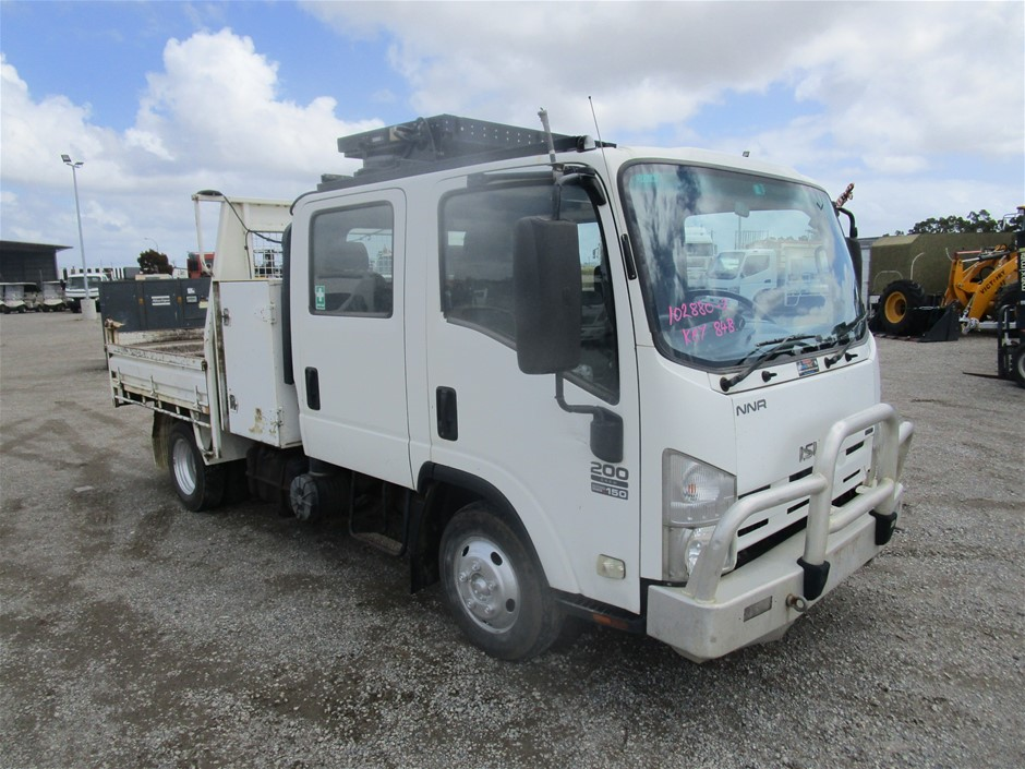 2008 Isuzu NNR 200 Tipper Truck