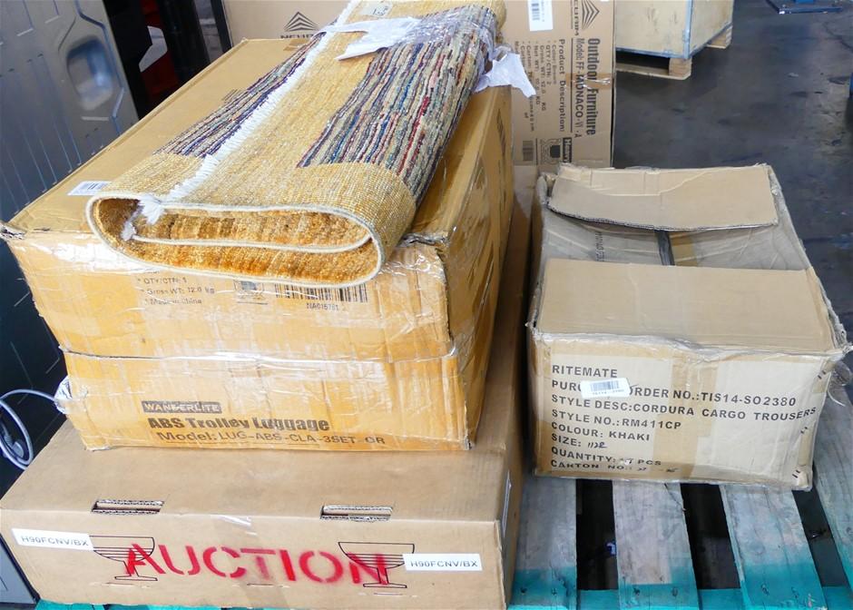 Pallet of Assorted Goods