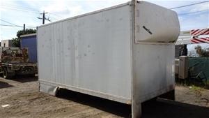 Small Pantech Service Truck Body