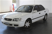 Unreserved 2000 Toyota Corolla Ascent AE112R