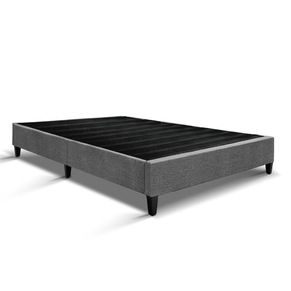 Artiss Double Size Bed Base Frame - Grey