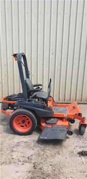 "Kubota Kommander ZG123S Zero Turn Ride On 48"" Cut Mower"