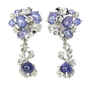 Beautiful Genuine Sapphire & tanzanite D