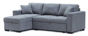 Eva 2.5 Seater Sofa Bed with Storage Cha