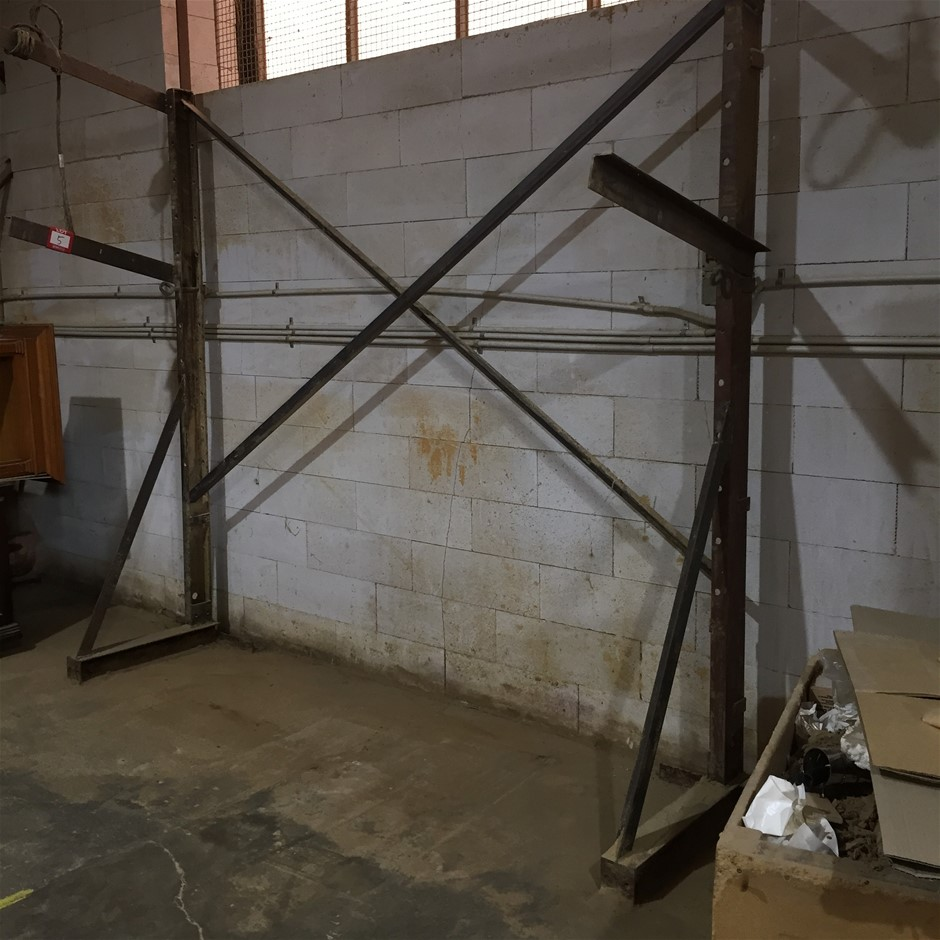 Metal Rack 3100h/2600w/800d Note: Buyer to Dismantle Location