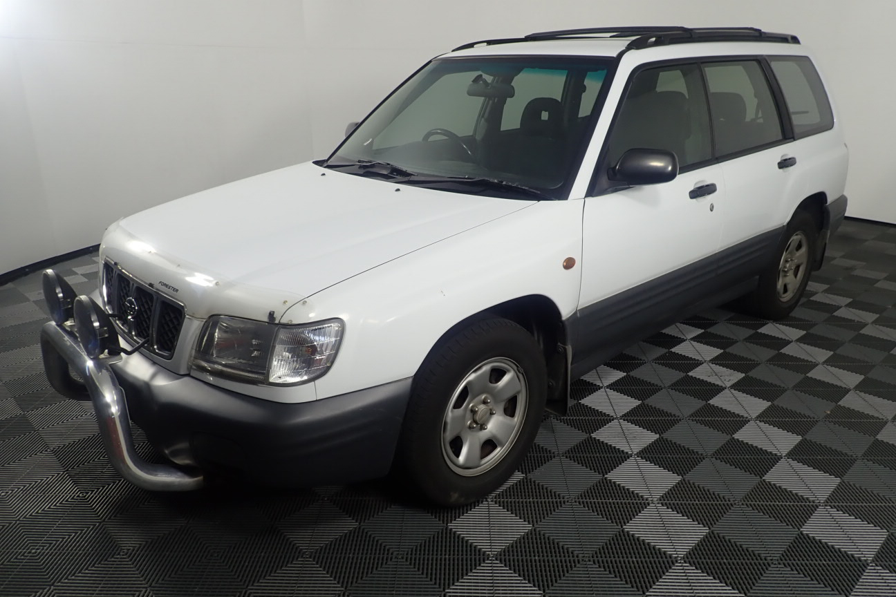2000 Subaru Forester Manual Wagon