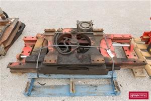 Forklift Backing Plate