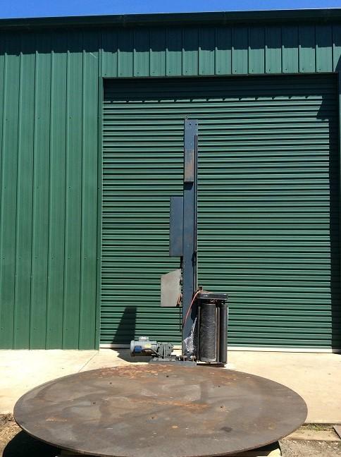 Lantech Motorised Electric Carousel Pallet Shrink Wrapping Machine