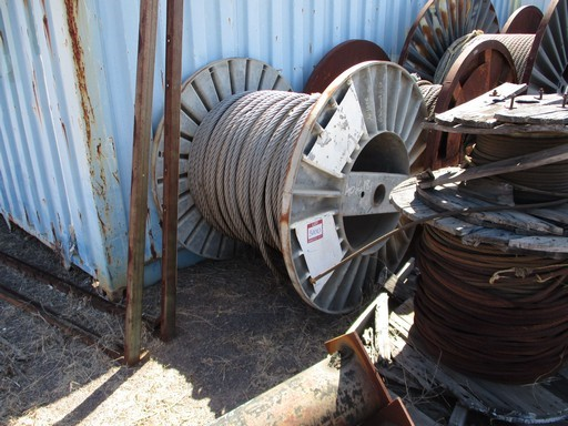 Qty 2x Part Rolls Wire Rope Cable