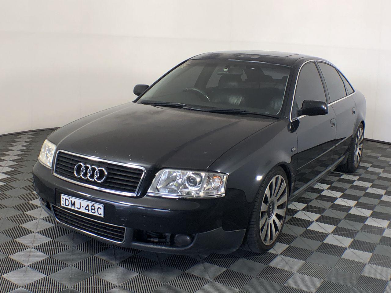 2002 Audi A6 3.0 V6 QUATTRO C6 Automatic Sedan