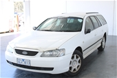Unreserved 2004 Ford Falcon XT BA Automatic Wagon