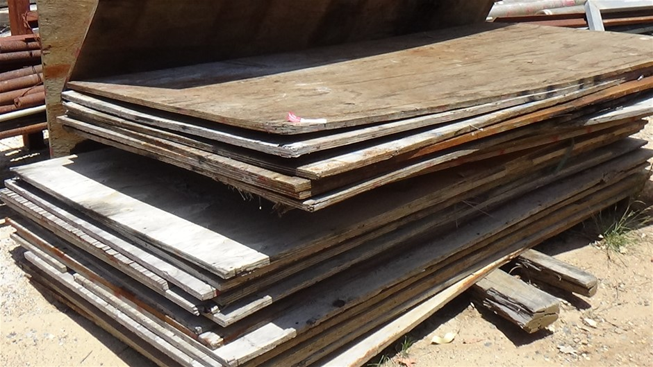 Qty 16 Sheets of plywood