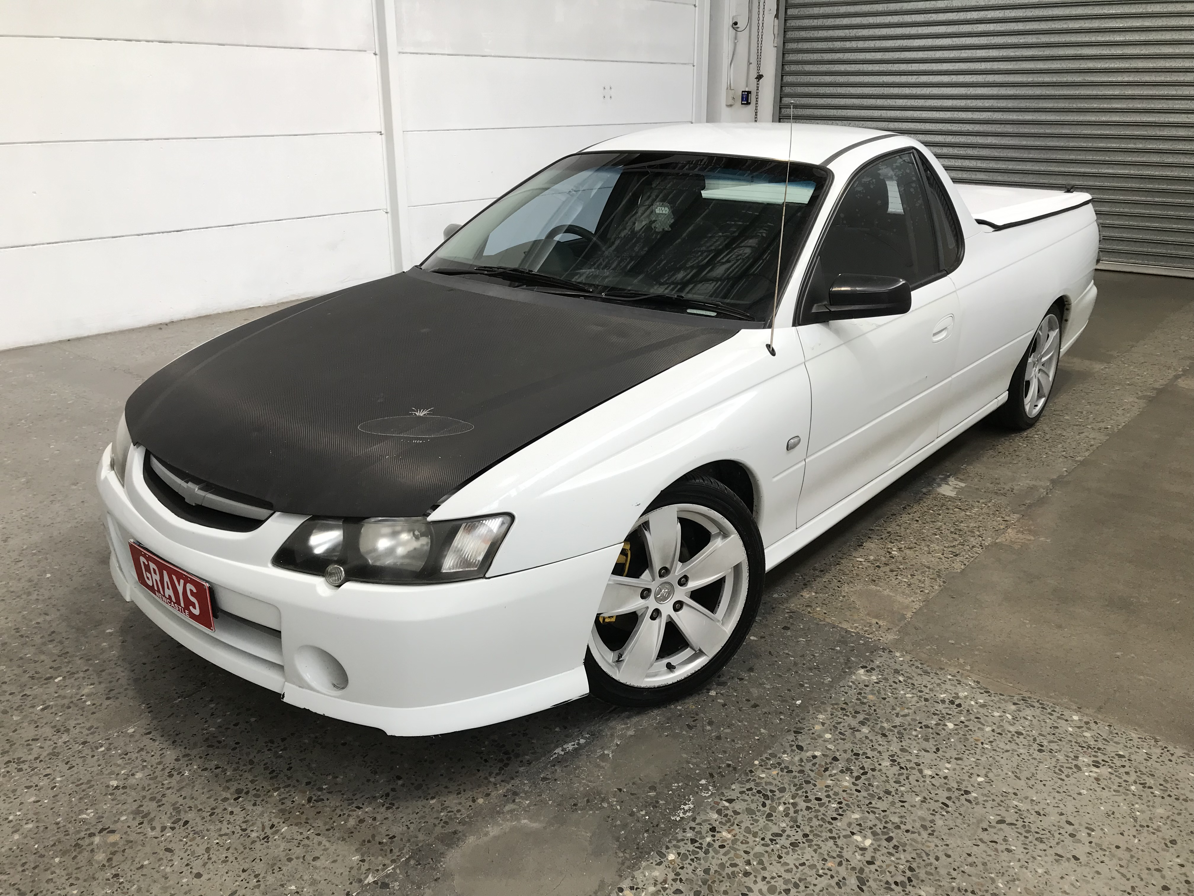 2003 Holden Commodore S pack Y Series Manual Ute WOVR