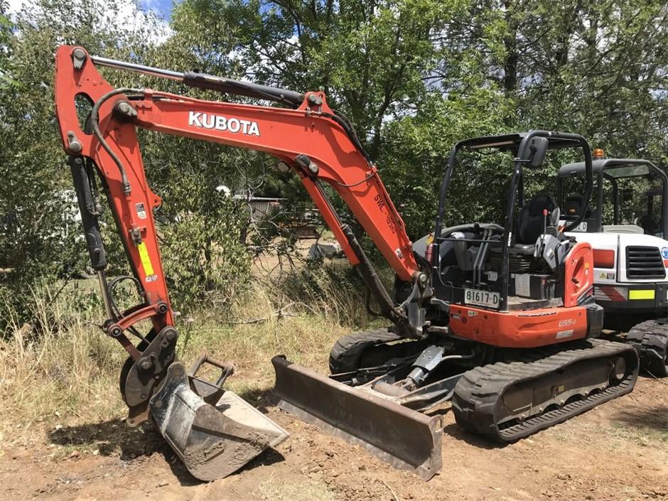 Kubota Hydraulic Excavator