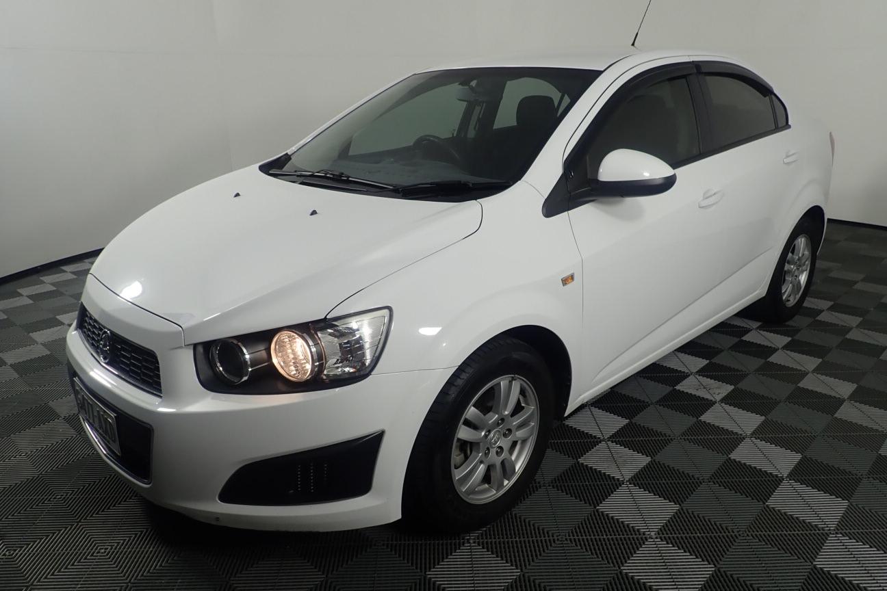2013 Holden Barina TM Manual Sedan