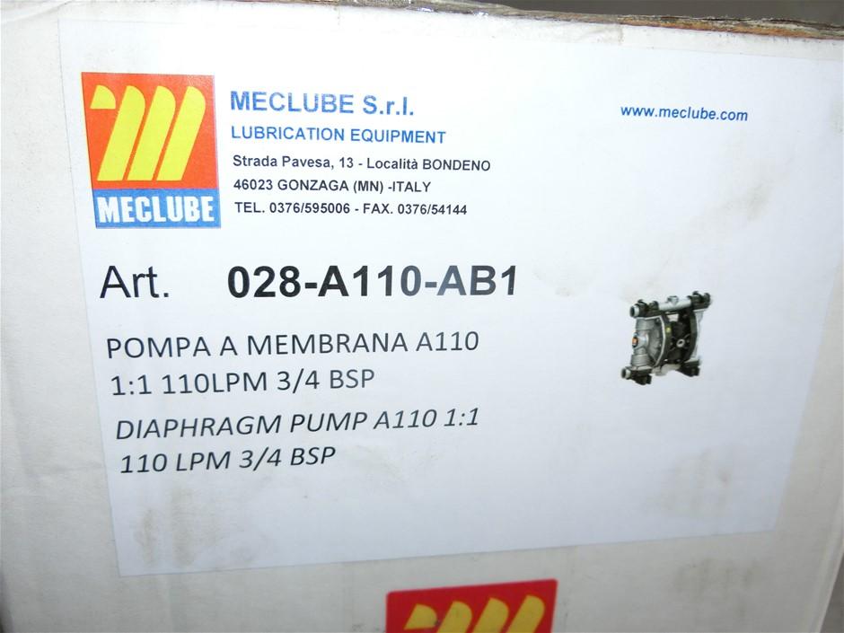 """Meclube 3/4"""" Diaphragm Pump-for waste oil, new oil, diesel (Pooraka, SA)"""
