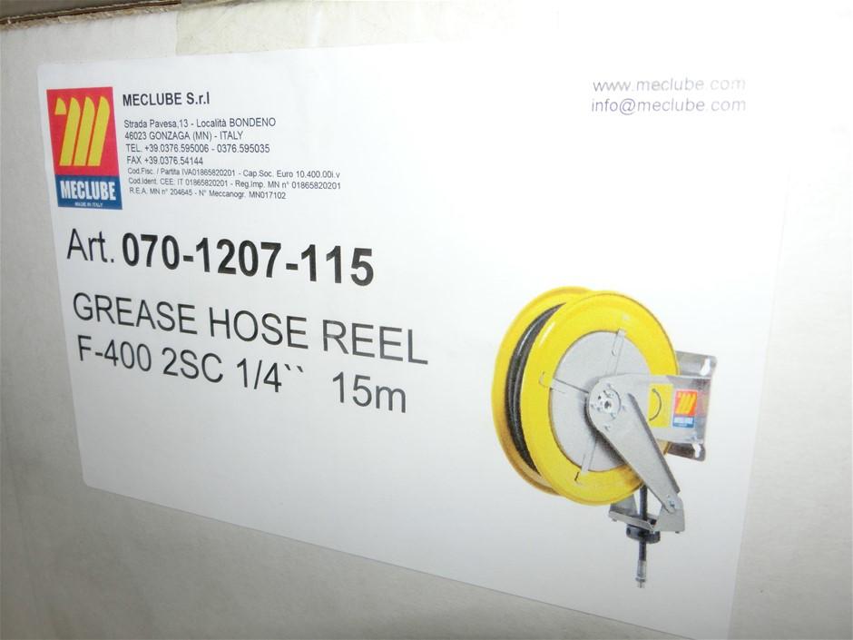 "Meclube 1/4"" x 15m Grease Hose Reel (Pooraka, SA)"