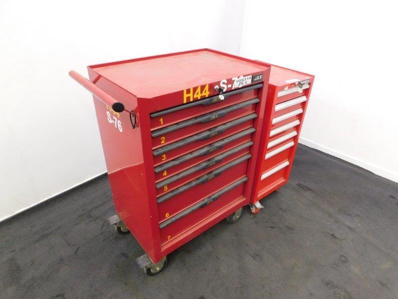 Qty 2 x Workshop Tool Box Trolleys