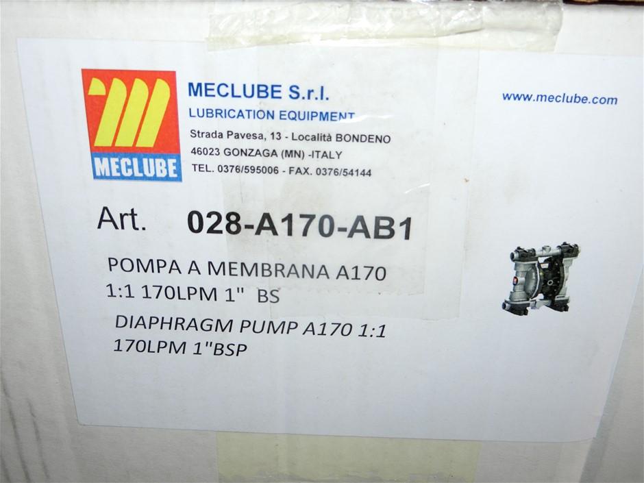 "Meclube 1"" Diaphragm Pump (Pooraka, SA)"