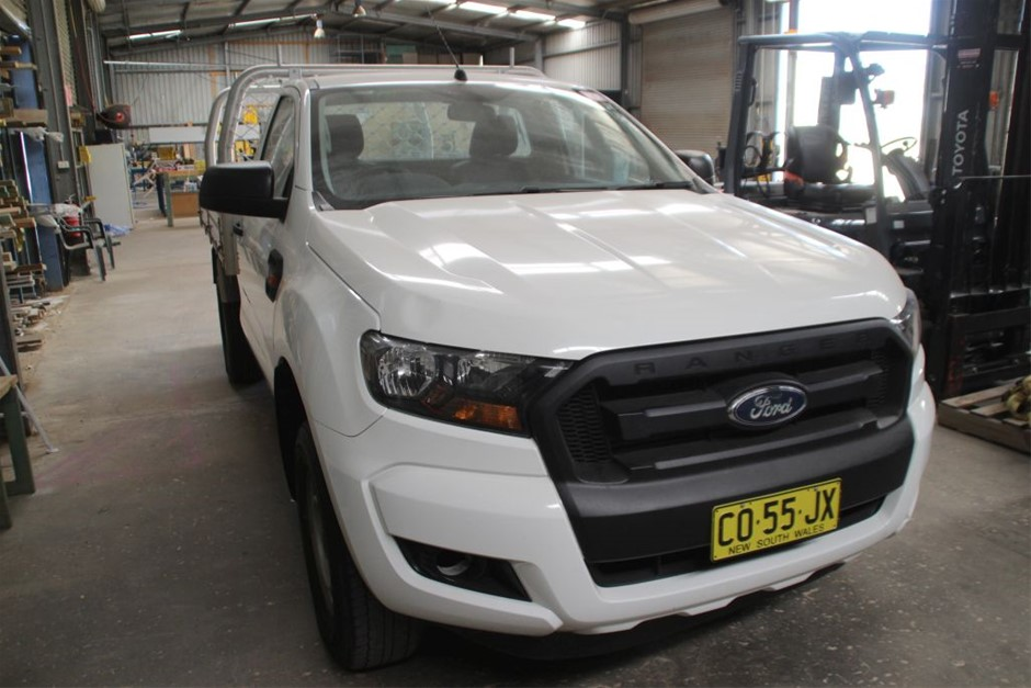 2016 Ford Range Cab Chassis Ute