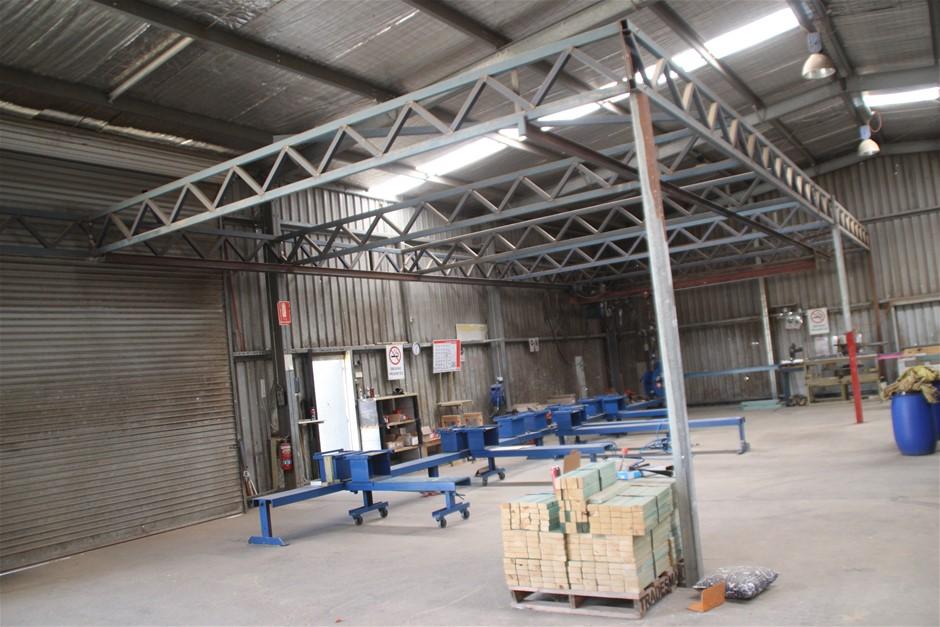 Berendsen Truss Framing Station