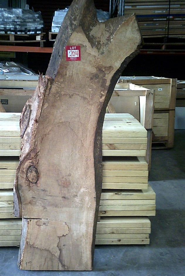 Grey Gum Timber Slab. 1940mm x 600mm x 60mm