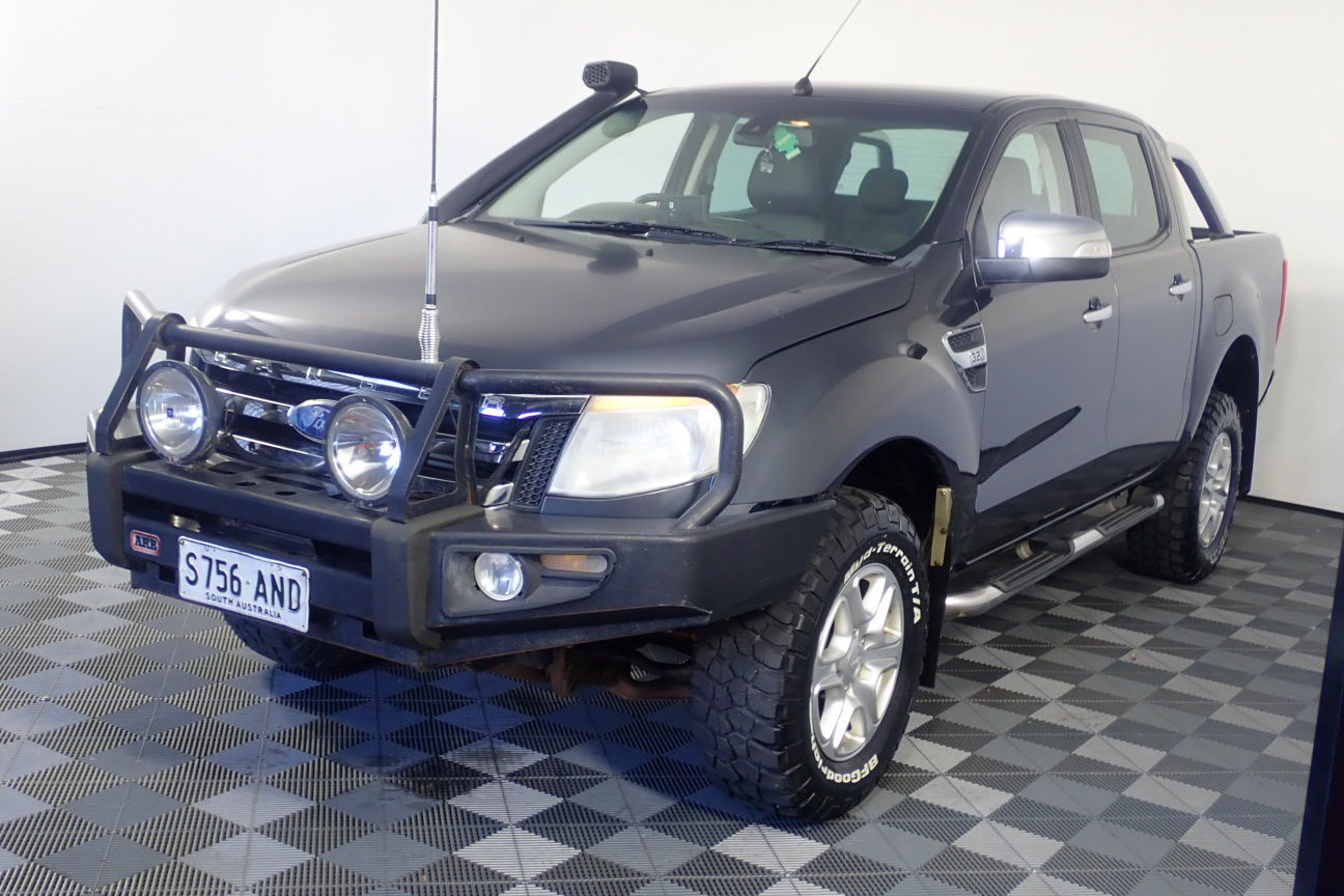 2011 Ford Ranger XLT 4X4 PX Turbo Diesel Manual Dual Cab