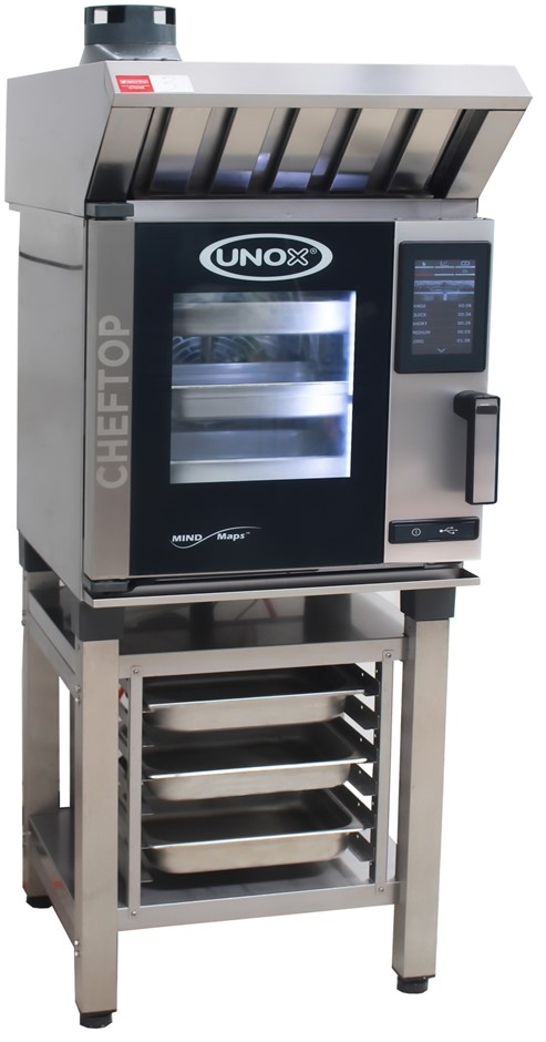 AS NEW UNOX ELECTRIC CHEFTOP MIND MAP 5 TRAY COMBI OVEN, QUALITY CO