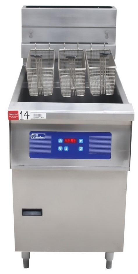 PITCO GAS SINGLE PAN FISH FRYER, QUALITY COMMERCIAL KITCHEN EQUIPME