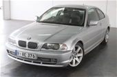 Unreserved 2001 BMW 3 30Ci E46 Automatic Coupe