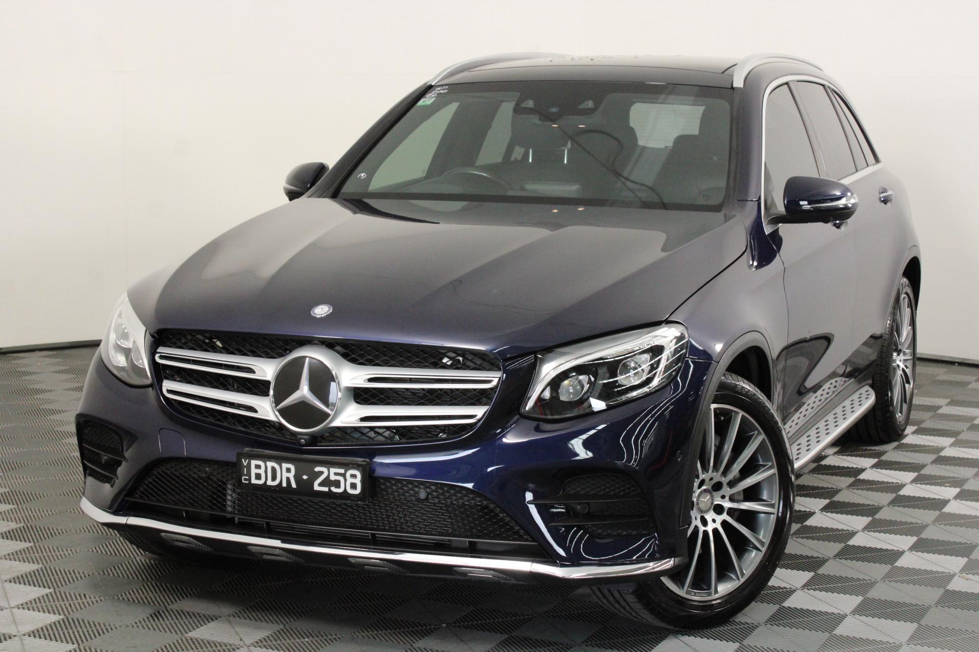 2016 Mercedes Benz GLC250 X253 9 auto 5 seat Wagon, 26,384km (WOVR)
