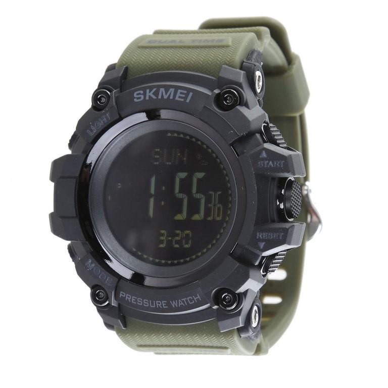 SKMEI Men`s Digital Wrist Watch w/ PU Band, Water Resistant to 30M, Functio