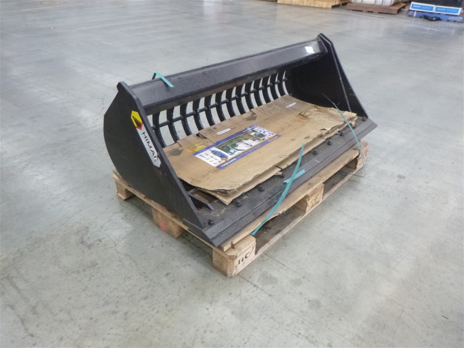 Unused 1450mm Excavator Rake Sieve Bucket