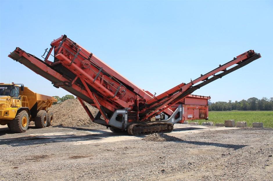 2012 QA450 Screening Plant