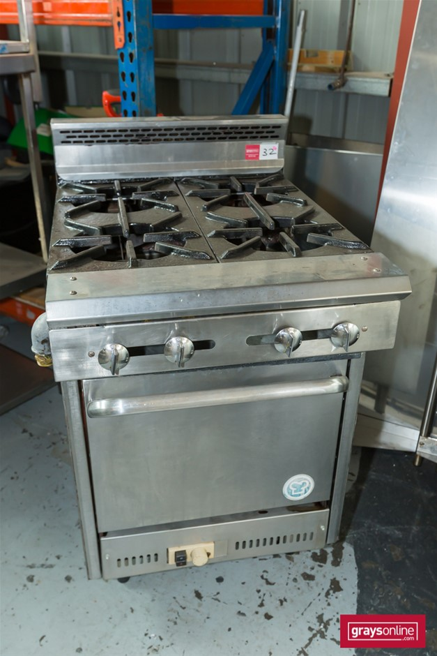 Goldstein 4 Burner Gas Range