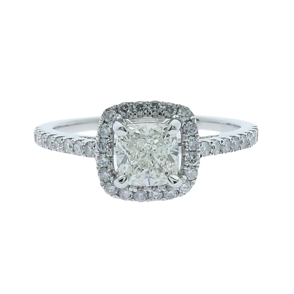 18ct White Gold, 1.49ct Diamond Engagement Ring