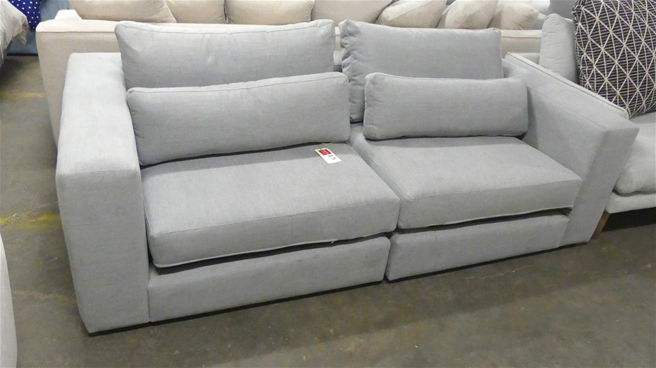 Modular Two seater Fabric Lounge