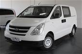 Unreserved 2013 Hyundai iLOAD TQ T/Diesel Auto Van
