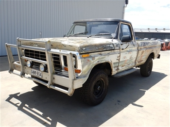 1980 Ford F100 Manual Ute