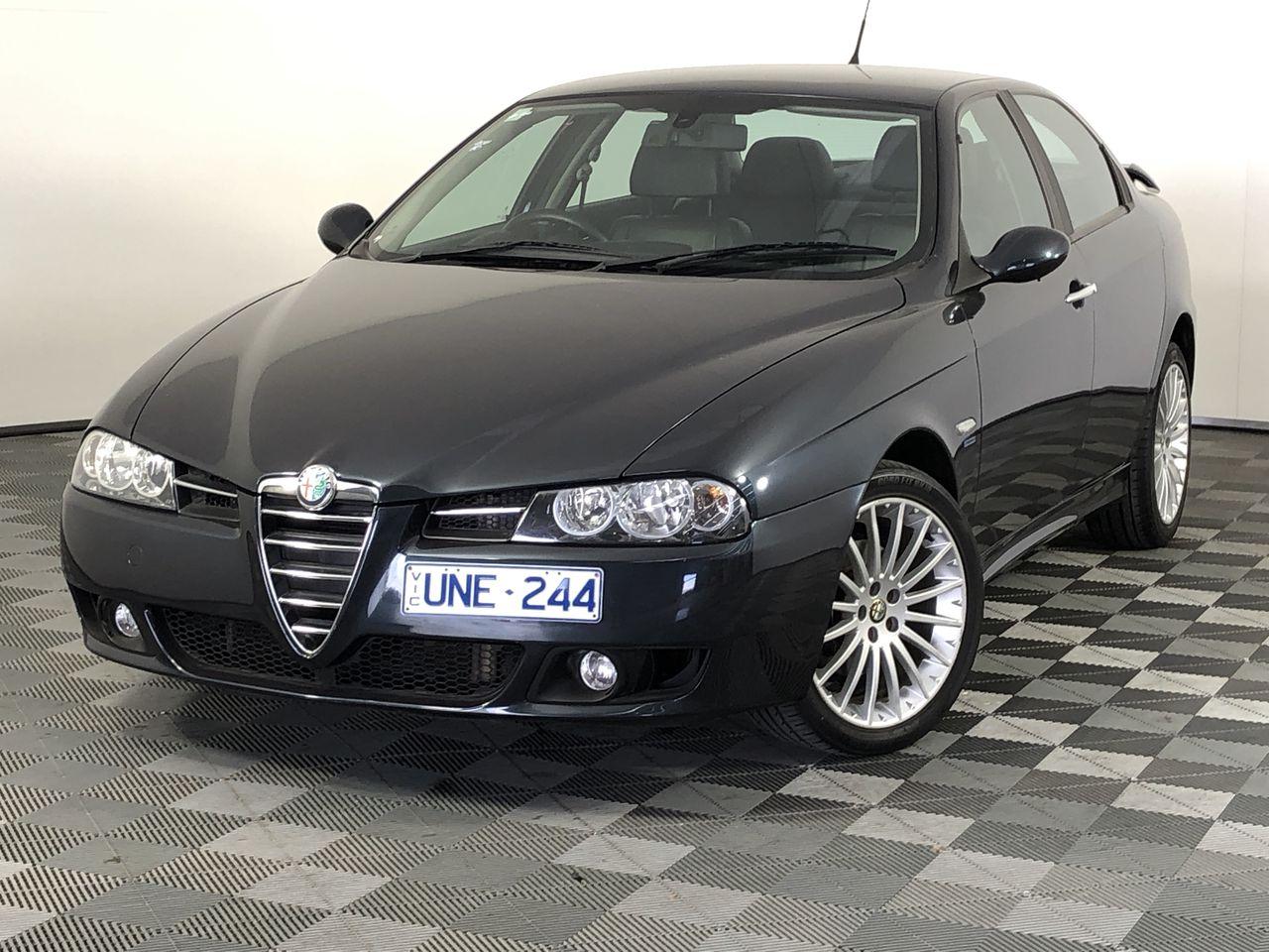 2007 Alfa Romeo 156 V6 24V Automatic Sedan