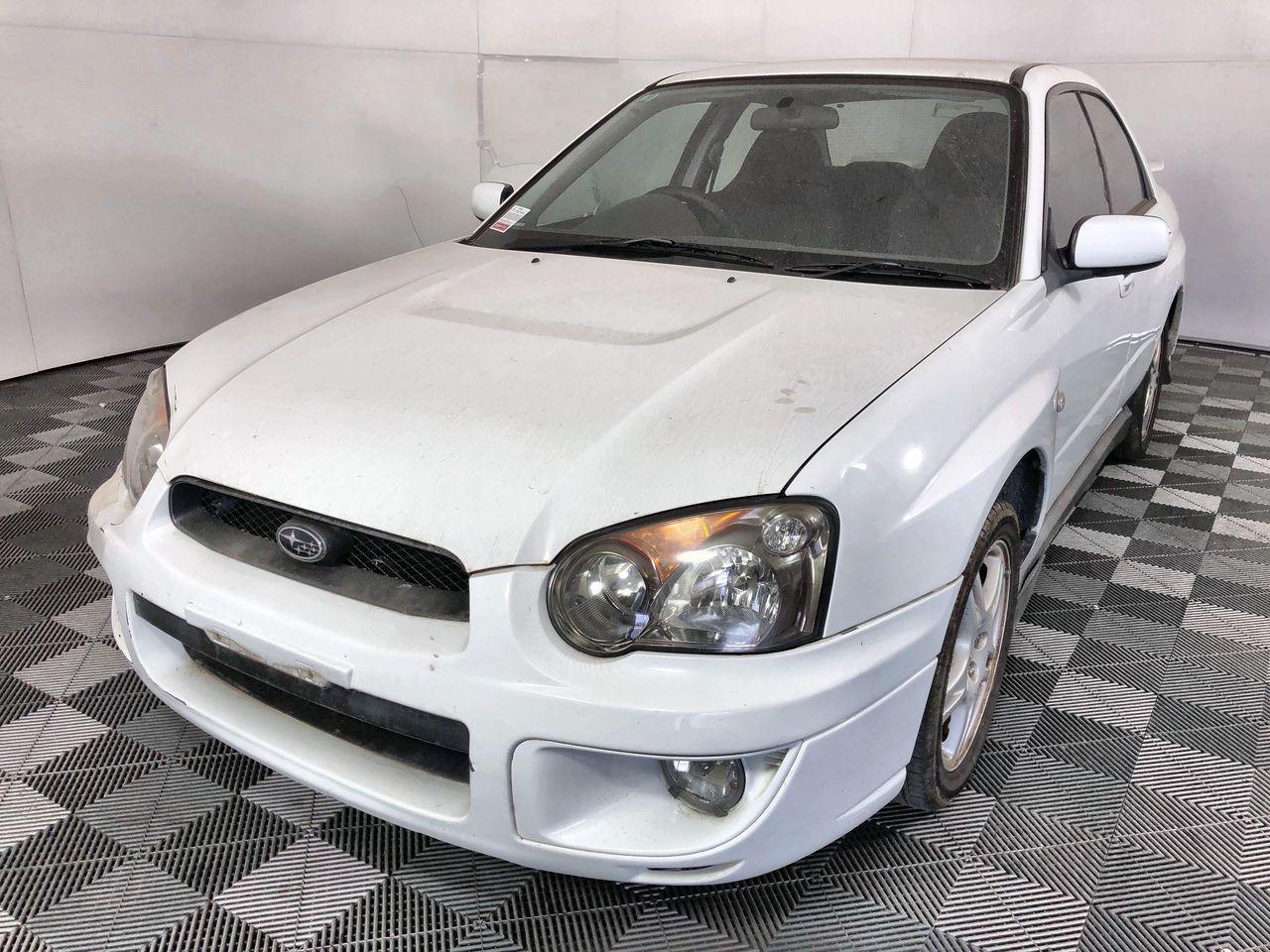 2004 Subaru Impreza RS (AWD) G2 Automatic Sedan