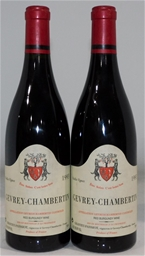 Geantet-Pansiot Gevrey-Chambertin Burgundy 1993 (2x 750mL), Fr. Cork.