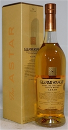 Glenmorangie Astar Scotch Whisky NV (1x 700mL), Scotland. Cork closure.
