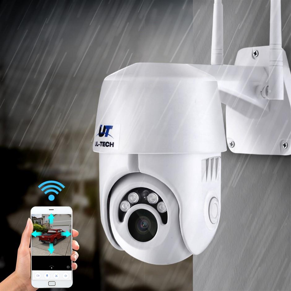 UL-tech Wireless IP Camera Outdoor CCTV Security HD 1080P WIFI PTZ 2MP