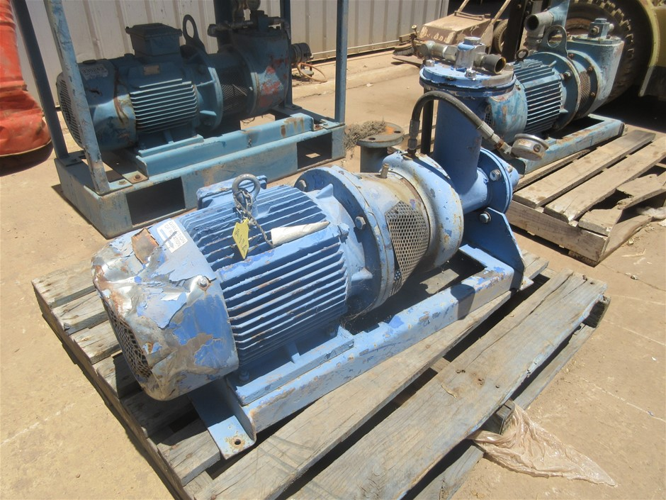 CMG 3 Phase Asynchronous Motor with Pump