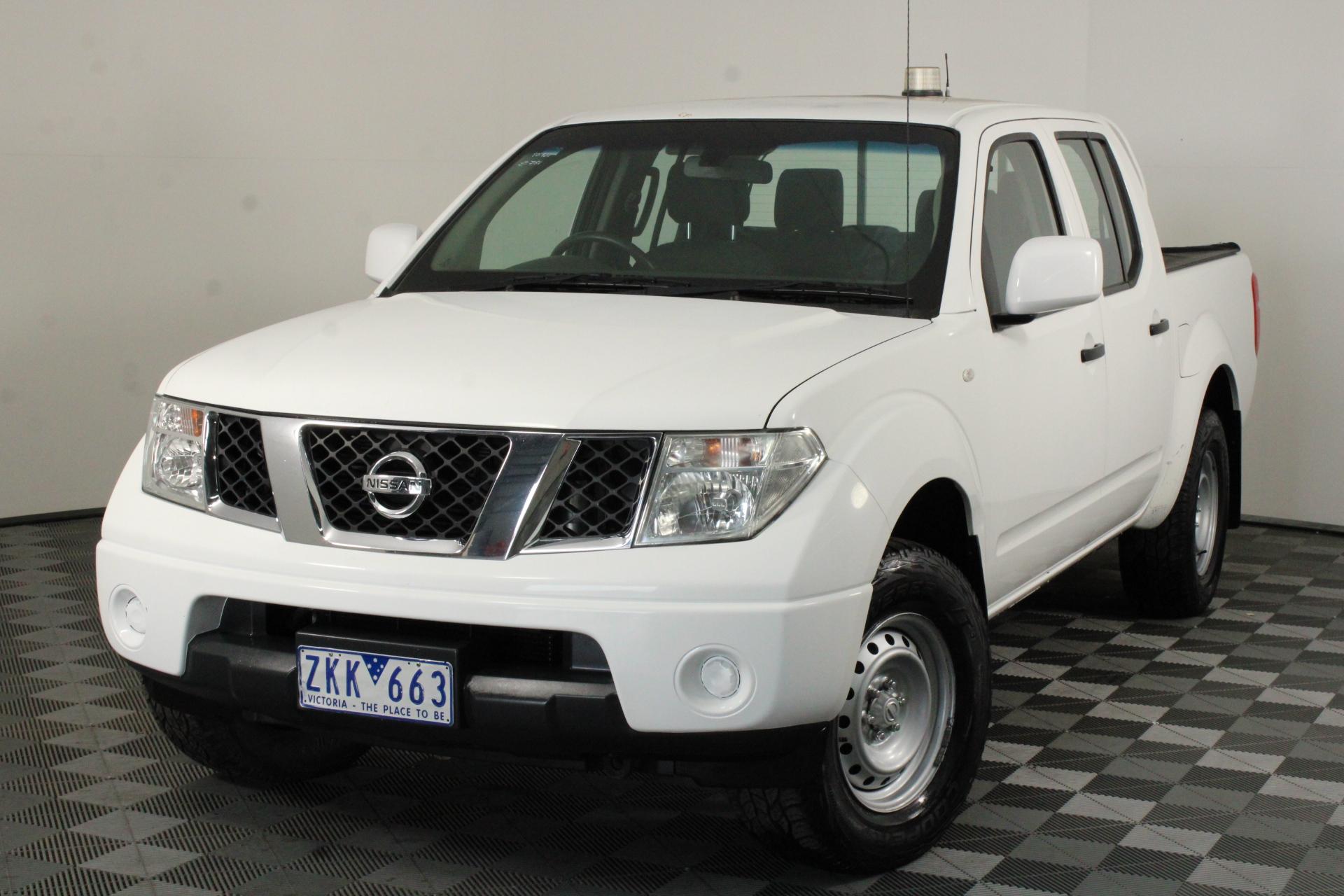 2012 Nissan Navara 4X4 RX D40 Turbo Diesel Automatic (EX GOV)