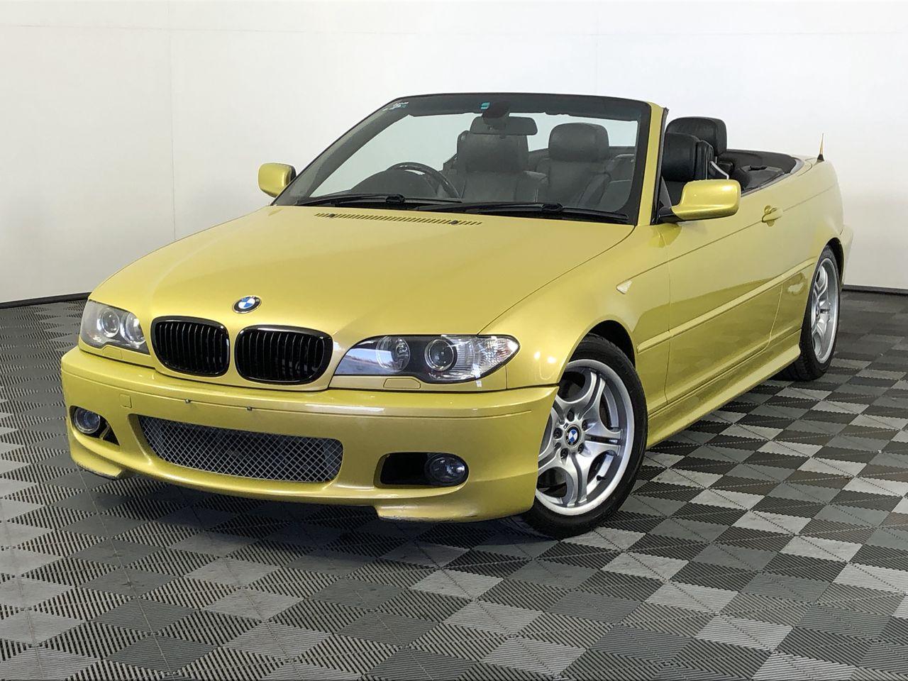 2003 BMW 3 30Ci E46 M Sport Manual Convertible