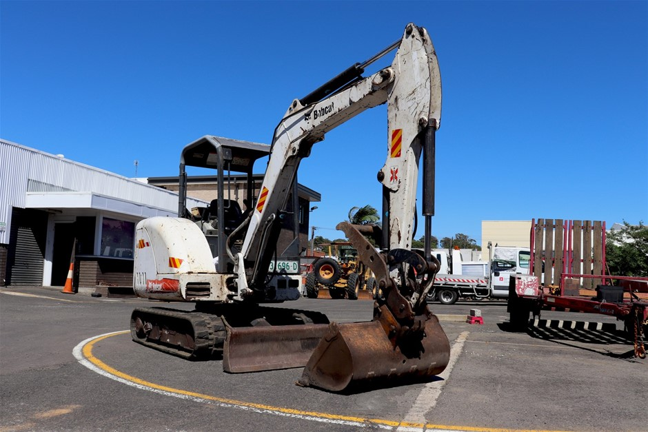 2006 Bobcat 334G 3433kg Excavator